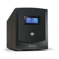 UPS onduleur Atlantis Land Linea Professional HostPower 2202 - Onduleur - CA 230 V - 1.1 kW - 2200 VA 9 Ah - RS-232, USB - connecteurs de sortie : 6