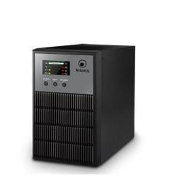 UPS onduleur Atlantis Land LinePower 1001 - Onduleur - CA 160 - 280 V - 700 Watt - 1000 VA 7 Ah - RS-232, USB - connecteurs de sortie : 3 - PFC active