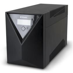 UPS onduleur Atlantis Land OnePower Line Interactive Server S1501 - Onduleur - CA 230 V - 1500 VA 9 Ah - connecteurs de sortie : 6