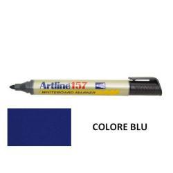 Marqueur Artline 157 - Marqueur - non permanent - pour verre, tableau blanc - bleu - encre pigmentée à base d'alcool - 2 mm