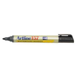 Marqueur Artline 157 - Marqueur - non permanent - pour verre, tableau blanc - noir - encre pigmentée à base d'alcool - 2 mm