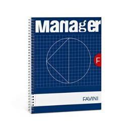 Quaderno Cartotecnica Favini - Manager