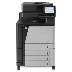 Imprimante laser multifonction HP Color LaserJet Enterprise flow MFP M880z+ - Imprimante multifonctions - couleur - laser - A3 (297 x 420 mm), Ledger (279 x 432 mm) (original) - A3 (support) - jusqu'� 46 ppm (impression) - 4100 feuilles - 33.6 Kbits/s - USB 2.0, Gigabit LAN, h�te USB, h�te USB (interne)