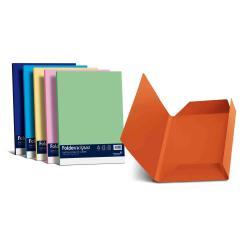 Porte-documents FAVINI HOME-OFFICE PROFESSIONAL luce - Chemise à 3 rabats - 245 x 345 mm - bleu prussien (pack de 25)