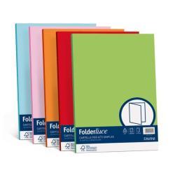 Porte-documents FAVINI HOME-OFFICE PROFESSIONAL luce - Chemise - 250 x 340 mm - bleu prussien (pack de 50)
