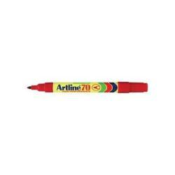 Marqueur Artline 70 - Marqueur - permanent - rouge - 1.5 mm - moyen