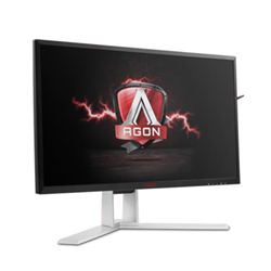 "Écran LED AOC Gaming AGON series AG241QG - Écran LCD - 24"" (23.8"" visualisable) - 2560 x 1440 - TN - 350 cd/m² - 1000:1 - 1 ms - HDMI, DisplayPort - haut-parleurs"