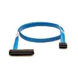 Câble HPE - Câble externe SAS - 4 SAS mini multivoies blindés 26 broches (SFF-8088) pour 4 x InfiniBand - 2 m - pour 1/8 G2 Tape Autoloader; StorageWorks MSL2024, MSL4048, MSL8096