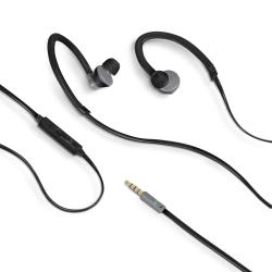 Celly AIRPRO100 - Écouteurs avec micro - intra-auriculaire - montage sur l'oreille - 3.5 mm plug - noir