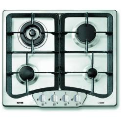 Plan de cuisson Ignis Today AKF115/IX - Table de cuisson au gaz - 4 plaques de cuisson - Niche - largeur : 56 cm - profondeur : 48 cm - inox