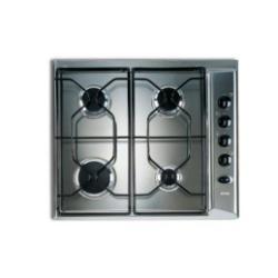 Plan de cuisson Ignis AKL 710IX - Table de cuisson au gaz - 4 plaques de cuisson - Niche - largeur : 56 cm - profondeur : 48 cm - inox