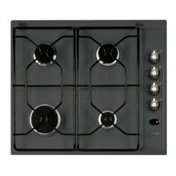 Plan de cuisson Ignis Country AKS 336/NA - Table de cuisson au gaz - 4 plaques de cuisson - Niche - largeur : 56 cm - profondeur : 48 cm - anthracite