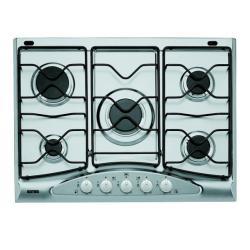Plan de cuisson Ignis AKS 338/IX - Table de cuisson au gaz - 5 plaques de cuisson - largeur : 68 cm - profondeur : 50 cm - inox