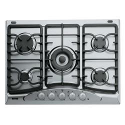 Plan de cuisson Ignis AKS 342/IX - Table de cuisson au gaz - 5 plaques de cuisson - Niche - largeur : 56 cm - profondeur : 48 cm - inox