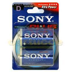 Pile Sony Stamina Plus AM1-B2D - Batterie 2 x D Alcaline