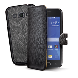 Image of BK PU WALLET CASE SAMSUNG ACE 4