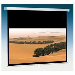 Écran pour vidéoprojecteur ITB Solution CINEROLL - Écran de projection - montable au plafond, montable sur mur - 90 po (226 cm) - 16:9 - blanc mat - gris clair, RAL 7035, RAL 9010, revêtement blanc poudré