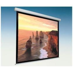 Écran pour vidéoprojecteur ITB Solution CINEDOMUS - Écran de projection - montable au plafond, montable sur mur - motorisé - 220 V - 133 po (339 cm) - 1:1 - blanc mat - RAL 9010, revêtement blanc poudré