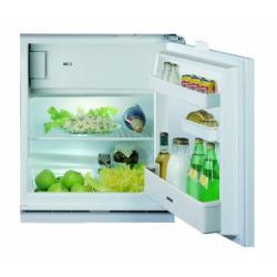 Réfrigérateur encastrable Ignis ARL 392 - Réfrigérateur avec compartiment freezer - intégrable - niche - largeur : 60 cm - profondeur : 55 cm - hauteur : 82 cm - 129 litres - classe A - blanc