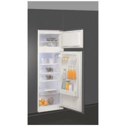 Réfrigérateur intégrable Ignis Today ARL 791/A++ - Réfrigérateur/congélateur - intégrable - niche - largeur : 56 cm - profondeur : 55 cm - hauteur : 144.3 cm - 220 litres - congélateur haut - Classe A++ - blanc