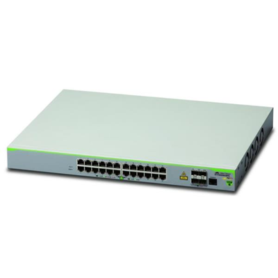 Switch Allied Telesis - 24 X 10/100T POE  PORTS AND 4 1000