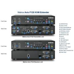 Switch kvm Matrox - Av-f120txf