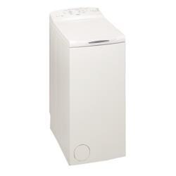Lave-linge Whirlpool AWE6010 - Essential - machine à laver - pose libre - largeur : 40 cm - profondeur : 60 cm - hauteur : 90 cm - chargement par le dessus - 6 kg - 1000 tours/min - blanc