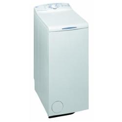 Lave-linge Whirlpool AWE 6317 - Machine à laver - pose libre - largeur : 40 cm - profondeur : 60 cm - hauteur : 90 cm - chargement par le dessus - 5 kg - 800 tours/min - blanc