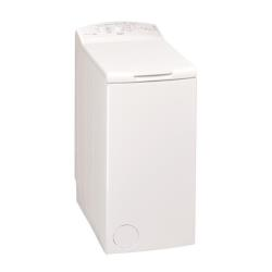 Lave-linge Whirlpool AWE7010 - Machine à laver - pose libre - largeur : 40 cm - profondeur : 60 cm - hauteur : 90 cm - chargement par le dessus - 42 litres - 7 kg - 1000 tours/min - blanc