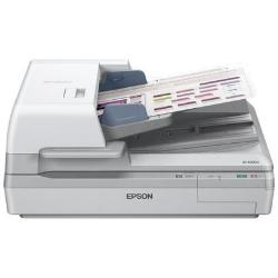 Scanner Epson WorkForce DS-60000 - Scanner de documents - Recto-verso - A3 - 600 ppp x 600 ppp - jusqu'à 40 ppm (mono) / jusqu'à 40 ppm (couleur) - Chargeur automatique de documents (200 feuilles) - USB 2.0