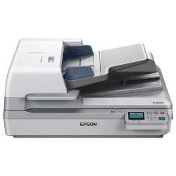 Scanner Epson WorkForce DS-60000N - Scanner de documents - Recto-verso - A3 - 600 ppp x 600 ppp - jusqu'à 40 ppm (mono) / jusqu'à 40 ppm (couleur) - Chargeur automatique de documents (200 feuilles) - jusqu'à 5000 pages par jour - Gigabit LAN
