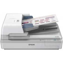 Scanner Epson WorkForce DS-70000N - Scanner de documents - Recto-verso - A3 - 600 ppp x 600 ppp - jusqu'� 70 ppm (mono) / jusqu'� 70 ppm (couleur) - Chargeur automatique de documents ( 200 feuilles ) - jusqu'� 8000 pages par jour - Gigabit LAN