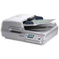 Scanner Epson WorkForce DS-6500N - Scanner de documents - Recto-verso - A4 - 1200 ppp x 1200 ppp - jusqu'à 25 ppm (mono) / jusqu'à 25 ppm (couleur) - Chargeur automatique de documents (100 feuilles) - jusqu'à 3000 pages par jour - USB 2.0, Gigabit LAN
