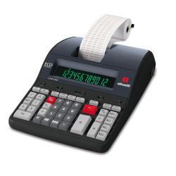 Calculatrice Olivetti Logos 902 - Calculatrice avec imprimante - LCD - 12 chiffres - adaptateur CA