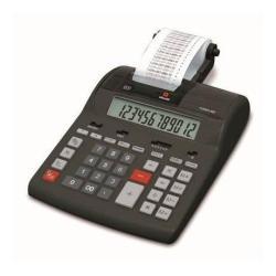 Calculatrice Olivetti Summa 302 - Calculatrice avec imprimante - LCD - 12 chiffres - adaptateur CA