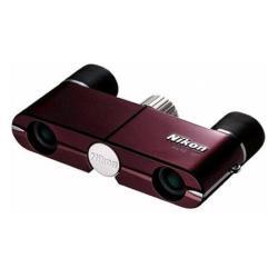 Jumelles Nikon - Jumelles 4 x 10 DCF - toit - rouge bourgogne