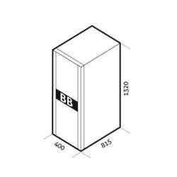 Batterie Riello UPS Battery Box BB 1320 480-T5 - Boîtier de piles - 120 x Acide de plomb 9 Ah