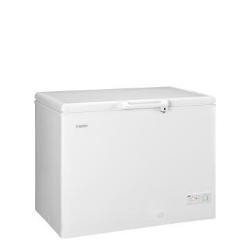 Congélateur Haier BD-319RAA - Congélateur - pose libre - largeur : 110 cm - profondeur : 74.5 cm - hauteur : 84.5 cm - 319 litres - congélateur coffre - classe A+ - blanc