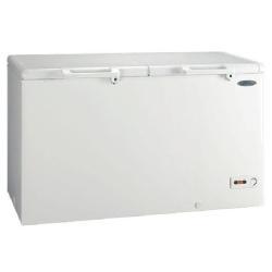 Congélateur Haier BD-429RAA - Congélateur - pose libre - largeur : 141 cm - profondeur : 74.5 cm - hauteur : 84.5 cm - 429 litres - congélateur coffre - classe A+ - blanc