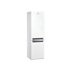 Réfrigérateur Whirlpool BLFV 8121 W - Réfrigérateur/congélateur - pose libre - largeur : 59.5 cm - profondeur : 65.5 cm - hauteur : 188.5 cm - 338 litres - congélateur bas - classe A+ - blanc