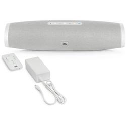 Soundbar JBL Boost TV - Haut-parleur - pour la télévision - sans fil - 30 Watt - blanc