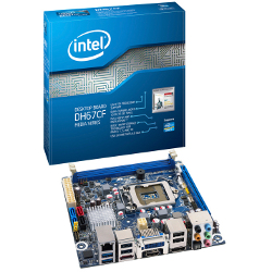 Carte mère Intel Desktop Board DH67CF - Media Series - carte-mère - mini ITX - Socket LGA1155 - H67 - USB 3.0 - Gigabit LAN - carte graphique embarquée (unité centrale requise) - Audio HD (10 canaux)
