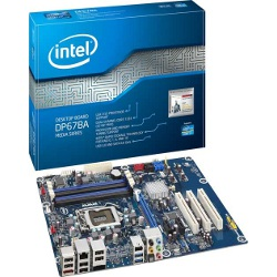 Carte mère Intel Desktop Board DP67BA - Media Series - carte-mère - ATX - Socket LGA1155 - P67 - USB 3.0, FireWire - Gigabit LAN - Audio HD (10 canaux)