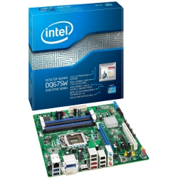 Carte mère Intel Desktop Board DQ67SW - Executive Series - carte-mère - micro ATX - Socket LGA1155 - Q67 - USB 3.0, FireWire - Gigabit LAN - carte graphique embarquée (unité centrale requise) - audio HD (8 canaux)