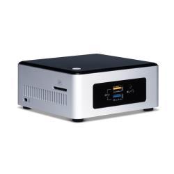 Kit pc à monter Intel Next Unit of Computing Kit NUC5CPYH - Barebone - mini ordinateur de bureau - 1 x Celeron N3050 / 1.6 GHz - HD Graphics - GigE - LAN sans fil: 802.11a/b/g/n/ac, Bluetooth 4.0 LE