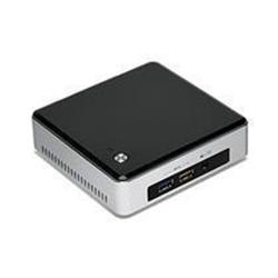 Kit pc à monter Intel Next Unit of Computing Kit NUC5i3RYK - Barebone - mini ordinateur de bureau - 1 x Core i3 5010U / 2.1 GHz - HD Graphics 5500 - GigE - LAN sans fil: Bluetooth 4.0, 802.11a/b/g/n/ac