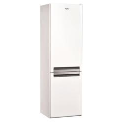 Réfrigérateur Whirlpool BSFV 8122 W - Réfrigérateur/congélateur - pose libre - largeur : 59.5 cm - profondeur : 65.5 cm - hauteur : 188.5 cm - 338 litres - congélateur bas - Classe A++ - blanc