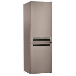 Réfrigérateur Whirlpool BSNF 8452 OX - Réfrigérateur/congélateur - pose libre - largeur : 59.5 cm - profondeur : 65.5 cm - hauteur : 188.5 cm - 319 li
