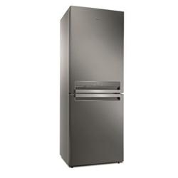 Réfrigérateur Whirlpool B TNF 5323 OX - Réfrigérateur/congélateur - pose libre - largeur : 70 cm - profondeur : 75.5 cm - hauteur : 195.5 cm - 450 litres - congélateur bas - Classe A+++ - inox