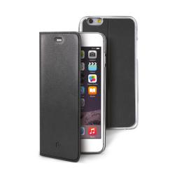 Housse CELLY BUDDY BUDDYIP6SBK - Protection à rabat pour téléphone portable - synthétique - pour Apple iPhone 6s